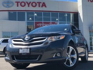 2015 Toyota Venza V6 AWD LEATHER ECP 1 OWNER