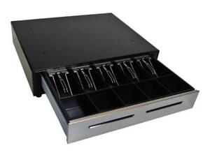 M-S EP-125NK Electronic Steel Cash Drawer - Point of Sale POS - w/Key & USB Cable