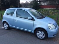 2004 Toyota Yaris 1.0 VVT-i Blue 3dr HPI CLEAR One Owner from New @07445775115@