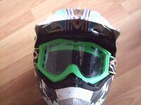 Wulf sport boys large helmet