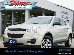 2012 Chevrolet Equinox LS 1 OWNER