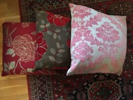 M&S cushions. Excellent condition. Have been used for decoration only