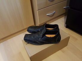 Selection of mens shoes.
