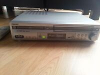 Video recorder with DVD