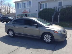 2006 Honda Civic DX-G  cold A/C.   New MVI