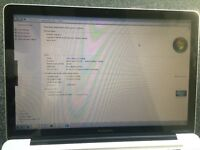 "MacBook Pro ""Core i5"" 2.4 15"" OS X Sierra + Windows 7 Enterprise 64 bit"
