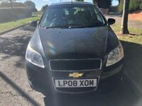 SUPERB 2008 CHEVROLET AVEO 5 DOOR HATCHBACK, 1200CC ENGINE, RECENT NEW CLUTCH, LONG MOT .