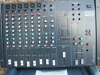 Studiomaster mixer with on board effects