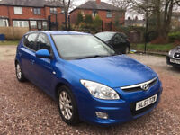 Hyundai i30 1.4 Style 5dr 57plate, 2007, 12 Month MOT, HPI Clear 3MONTH WARRANTY FREE