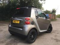 Smart Fortwo 1.0 Passion Cabriolet 2dr, HEATED LEATHER SEATS CONVERTIBLE