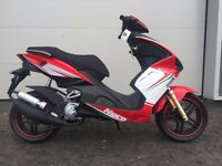 Neco GPX 2T LC 50 50cc Liquid Cooled Sports Scooter Flexible Payment Terms & Nationwide Delivery