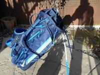 Nike Carry Golf Bag with Stand.