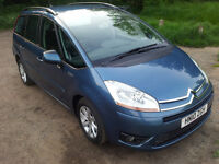 **LOW MILLAGE** Citroen Grand C4 Picasso MPV (2006 - 2010) MK1 1.6 HDi 16v VTR+ EGS 5dr
