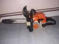 "stihl ms170 14"" bar and chain"