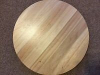 Lazy Susan . Ikea wood 40cm new all money for bury hospice