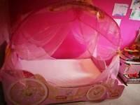 Princess todler bed