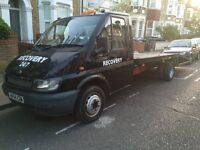 Solid Ford transit Recovery Truck For Quick Sale
