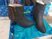 Justfab trinley boot heels