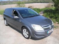 VAUXHALL ASTRA CLUB VAN 1.3 CDTI VERY CLEAN INTERIOR 6 SPEED ECONOMY GREAT VALUE VERY CLEAN INSIDE
