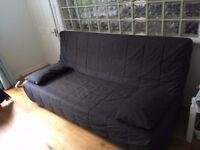 Ikea sofa bed - dark grey