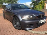 *STUNNING*BMW M3 3.2 COUPE 2DR MANUAL 6 SPEED(343BHP)WITH SAT NAV LEATHER BIG UPGRADED ALLOYS*