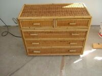 bamboo chests of drawers