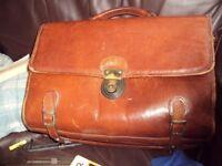 Texier vintage leather bag