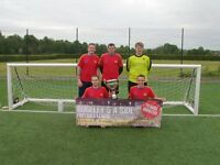 football players wanted for 5aside teams cannock penkridge rugeley