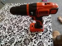 18v Black and decker combi drill