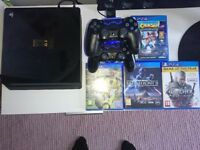 PlayStation 4 Limited Edition 1TB with Games