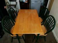 Wodden Dinning table with 4 Chairs