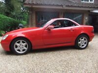 MERCEDES SLK 230 2000 X REG [ BARGAIN CAR ]