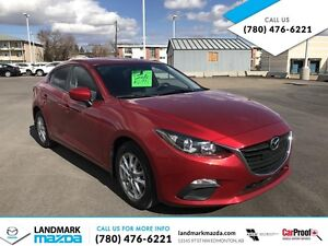 2014 Mazda Mazda3 GS- SKY SEDAN / LOW KMS !
