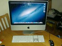 iMac 20 inch 4GB RAM Core 2 Duo CPU OS X Lion