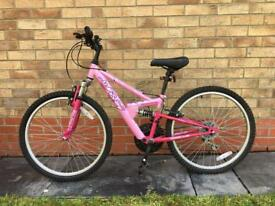 Girls Bike - Pink with Gears