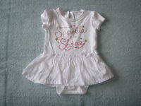 F&F Dress with popper-pants 3 – 6 months
