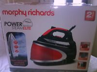 MORPHY RICHARDS steam iron BOXED
