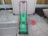 Qualcast 1400W Electric Rotary Lawn Mower - 34cm only used to test
