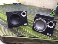 Subs amps CD players speakers etc