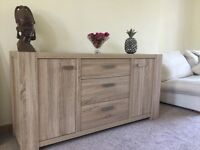 Next Corsica Sideboard and Wide TV Unit