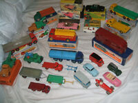 wanted dinky toys and corgi toys model cars and trucks from the 1950s/1960s
