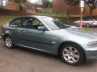 Beautiful well reliable LOW MILEAGE BMW Compact 03 plate for sale, MOT until February 2019