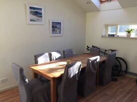 Barker & Stonehouse with 8 chairs