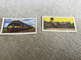 BARRATT SWEET CARDS. TRAINS. FOR SALE