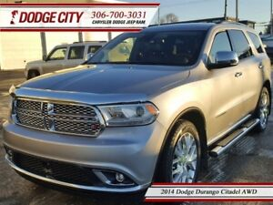 2014 Dodge Durango Citadel | AWD | PST PAID - DVD, Nav, Leather