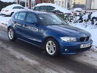 **** BMW 116 SE I 2005 05 REG FULL SERVICE HISTORY WITH 2 X KEY FOB'S 5 DOOR LOOKS + DRIVES GOOD ***