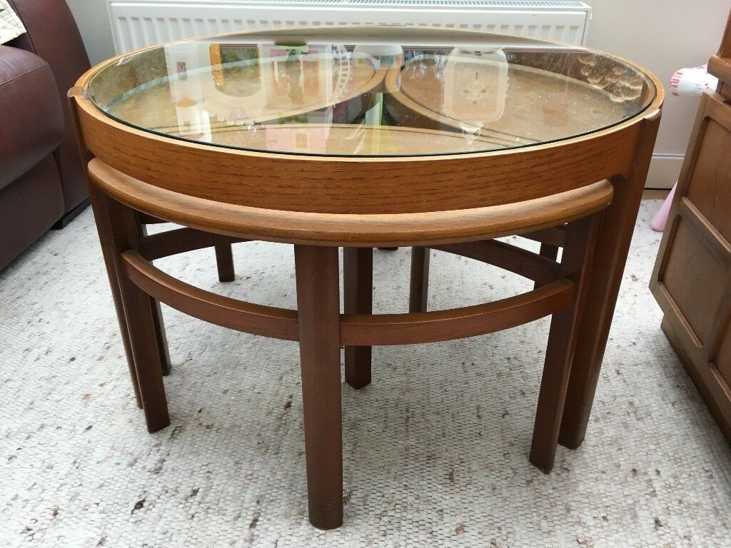 PRICE REDUCTION -Nathan Teak Nesting Coffee Tables | in ...