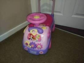 Disney princess walker ride on.