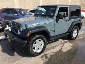 2014 Jeep Wrangler Sport, Automatic, Hard Top, 4x4, Only 33, 000