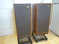 Vintage Spendor BC1 Stereo Speakers